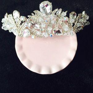 Accessories - Bridal, 15, crown silver